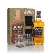 Jura 12 Year Old Gift Pack with 2x Glasses Single Malt Whisky