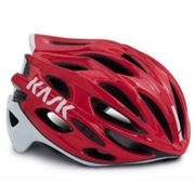 Kask Mojito X Road Cycling Helmet - Red / White / Small / 48cm / 52cm Red/White Small/48cm/52cm