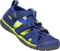 Keen Kids Seacamp II CNX Blue Depths - Chartreuse, Size EU 31 - Kids Sandals, Color Blue