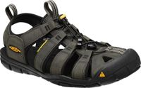 Keen M Clearwater CNX Leather Magnet - Black, Size EU 42.5 - Mens Sandals, Color Black