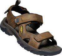 Keen M Targhee III Open TOE Sandal Bison - Mulch, Size EU 44.5 - Mens Sandals, Color Brown
