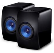 KEF LS50 Wireless Speakers Black/Blue
