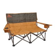 Kelty   Low Loveseat   Double Camp Chair   Canyon Brown / Beluga One Size