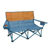 Kelty   Low Loveseat   Double Camp Chair   Tapestry / Canyon Brown One Size