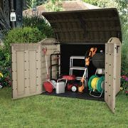 Keter Store It Out Ultra Large 6 x 4ft Garden & Bike Storage Shed