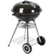 Kettle grill ø 41.5 cm galvanized with wheels