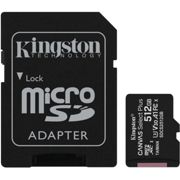 Kingston 512GB Canvas Select Plus UHS-I microSDXC Memory Card with SD Adapter