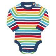 Kite - Rainbow Long Sleeved Body Knitted Jumper - 6 - 9 months