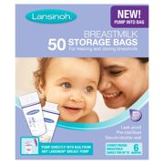 Lansinoh Breast Milk 50 Storage Bags