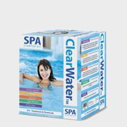 Lay-Z-Spa Clearwater Spa Chemical Starter Kit - White, White