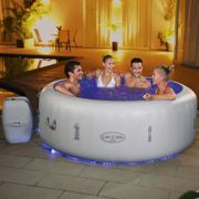 Lay-Z-Spa Paris Airjet Hot Tub For 4-6 Adults One Colour
