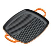 Le Creuset Signature Cast Iron Shallow Rectangular Grill in Volcanic 30cm