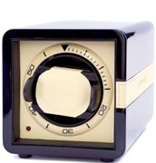 Leanschi Watch Winder Single Lacquered Wood PU Leather LNCH-002