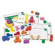 Learning Resources Learning Resources Mathlink Cubes Activity Set One Colour