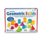 Learning Resources View-Thru Geometric Shapes 4331