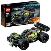 LEGO 42072 Technic Impulse WHACK! Racing Car Toy, Pull back motor, 2 in 1 Advanced Building Set