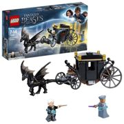 LEGO 75951 Fantastic Beasts Grindelwald's Escape Carriage Toy, Harry Potter Gifts, Build and Play Toys for Kids