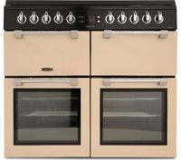 Leisure Chefmaster CC100F521C 100cm Dual Fuel Range Cooker - Cream - A/A/A Rated