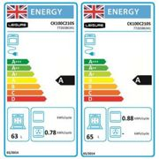 Leisure CK100C210S 100cm COOKMASTER Electric Range Cooker in Silver