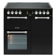 LEISURE CK90C230K 90cm Cookmaster Electric Range Cooker-Black