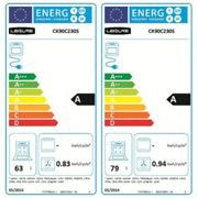 Leisure Cookmaster CK90C230S 90cm Electric Range Cooker with Ceramic Hob - Silver - A/A Rated