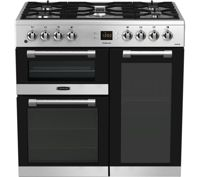 LEISURE CK90F530X 90 cm Dual Fuel Range Cooker - Stainless Steel & Chrome, Stainless Steel