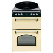 Leisure Heritage Double Oven 60cm Electric Cooker Natural