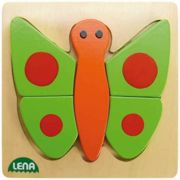 Lena wooden butterfly puzzle