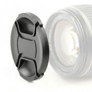 Lens Cap (front) 40.5mm Nikon LC-N40.5 Snap On: Inside handle / Central Pinch