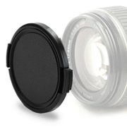 Lens Cap (front) 52mm Panasonic DMW-LFC52GU Snap On: Outside handle / Side Pinch