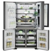 LG LSR100 InstaView American Fridge Freezer Steel Ice Water NP F