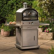 Lifestyle Milano Stainless Steel Deluxe Gas Pizza Oven