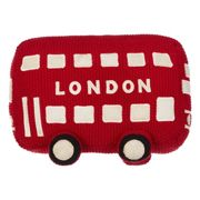 little home at John Lewis City Bus Soft Toy, Red