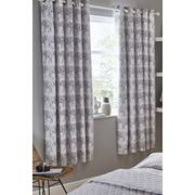 Little Knightleys Blackout Eyelet Curtains Grey