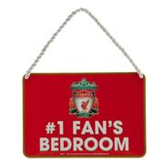 Liverpool FC Official Bedroom No. 1 Fan Sign (One Size) (Red)