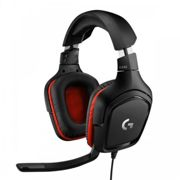 Logitech 981-000757 G332 Game console + PC/Gaming Binaural Head-band black,Red Leatherette Wired