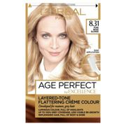 L'Oreal Excellence Age Perfect 8.31 Pure Beige Blonde Hair Dye