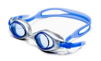 Luna Viking Swimming Goggles with Easy-Adjust Strap and Blue Lenses
