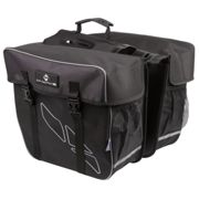 M-wave Amsterdam Double 30l Saddlebags One Size Black / Grey