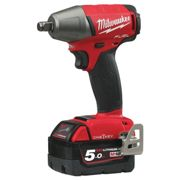 Milwaukee 4933451375 M18 ONEIWF12-502X Fuel ONE-KEY 1/2in FR Impact Wrench 18 Volt 2 x 5.0Ah