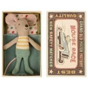 Maileg - Little Brother Mouse in Matchbox Toy