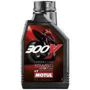 Maintenance and cleaning Motul 300v Fl Road Racing 15w50 1l One Size