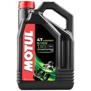 Maintenance and cleaning Motul 5100 10w50 4t 4l One Size