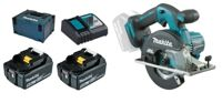 Makita DCS551RTJ 2x 5Ah battery + MAKPAC