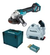 Makita DGA514ZJU1 in MAKPAC + 196845-3 18V without battery and charger