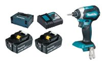 Makita DTD153RTJ 2x 5Ah battery + MAKPAC 18V, 170 Nm