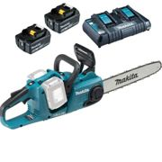 Makita DUC353 Twin 18v LXT Cordless Chainsaw 350mm 2 x 6ah Li-ion Charger