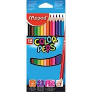 Maped Color Peps Colouring Pencils 183212 Assorted Pack of 12