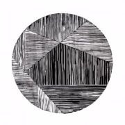 Mary Claire Smith - Tangent Print - Black/White