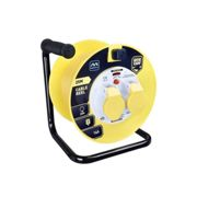 Masterplug Cable Reel 110V 16A Thermal Cut-Out 25m